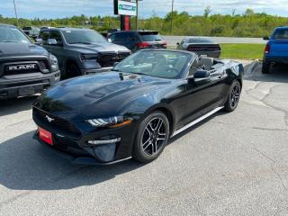 Used 2018 Ford Mustang 2.3 ECO-Boost Premium Convertible!! for sale in Sudbury, ON