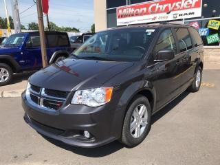 New 2020 Dodge Grand Caravan CREW PLUS / DVD/NAV/SAFETY GRP for sale in Milton, ON