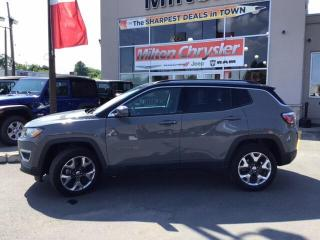 Used 2019 Jeep Compass LIMITED 4X4|LEATHER|NAVIGATION|BACK UP CAMERA for sale in Milton, ON