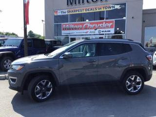 Used 2019 Jeep Compass Limited 4X4 for sale in Milton, ON