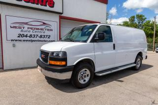 Used 2018 GMC Savana Van 2500 Cargo *B/Up Cam*Lease/Finance* for sale in Winnipeg, MB
