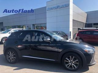 Used 2017 Mazda CX-3 GT AWD *Cuir/Leather *Toit/Roof *GPS/Camera for sale in Saint-Hubert, QC