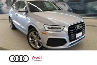 Used 2017 Audi Q3 2.0T Technik + Pano Roof | Bose Sound | Nav for sale in Whitby, ON
