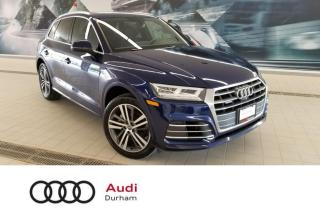 Used 2018 Audi Q5 2.0T Technik + B & O   Pano Roof   Side Assist for sale in Whitby, ON