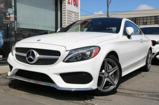 Used 2017 Mercedes-Benz C-Class C300 4M, Navi, Cam, PanoRoof, Burmester Sound, Coupe for sale in North York, ON