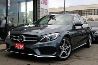 Used 2016 Mercedes-Benz C-Class C300, Navi, Camera, PanoRoof, Distronic + for sale in North York, ON
