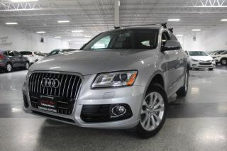 Used 2016 Audi Q5 PROGRESSIV I PANOROOF I LEATHER I HEATED SEATS I POWER TRUNK for sale in Mississauga, ON