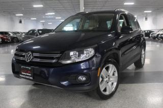 Used 2016 Volkswagen Tiguan 4MOTION I LEATHER I PANOROOF I BIG SCREEN I REAR CAM I BT for sale in Mississauga, ON