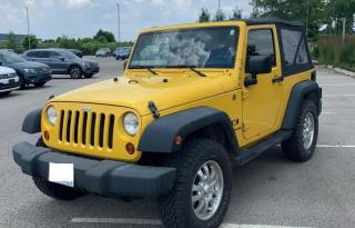 Used 2009 Jeep Wrangler 4WD  2DR Wrangler X Clean No Accident for sale in Brampton, ON