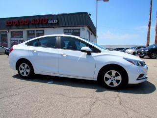 Used 2016 Chevrolet Cruze LS No Accident Automatic Bluetooth Camera Certified for sale in Milton, ON