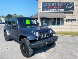 Used 2008 Jeep Wrangler Unlimited Sahara for sale in Kingston, ON