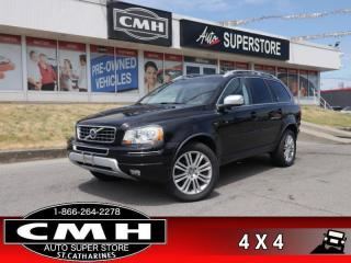 Used 2014 Volvo XC90 3.2 Platinum  NAV 7-PASS ROOF CAM LEATH P/SEATS for sale in St. Catharines, ON