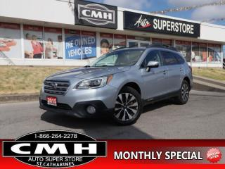 Used 2015 Subaru Outback 3.6R  V6 AWD NAV ROOF LEATH HS BT for sale in St. Catharines, ON