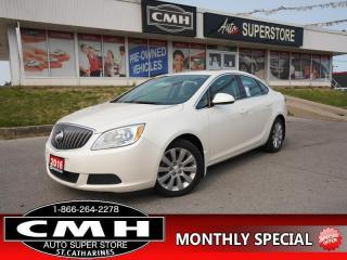 Used 2016 Buick Verano Base  DUAL-CLIMATE ON-STAR 17-AL PWR-GRP for sale in St. Catharines, ON
