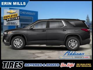 New 2020 Chevrolet Traverse LT Cloth  -  1LT Package for sale in Mississauga, ON