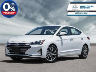 New 2020 Hyundai Elantra Ultimate  - Navigation -  Leather Seats - $179 B/W for sale in Brantford, ON