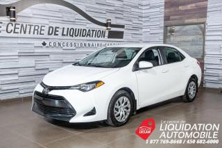 Used 2018 Toyota Corolla LE,MAGS,GR/ÉLECT,A/C,CAM/REC for sale in Laval, QC