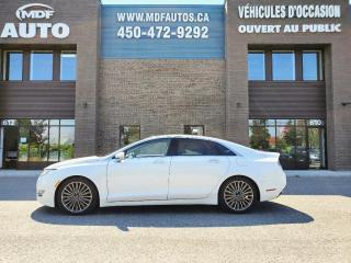 Used 2016 Lincoln MKZ V6 AWD TECH for sale in St-Eustache, QC