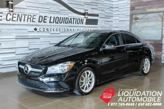 Used 2017 Mercedes-Benz CLA-Class CLA 250,MAGS,GR/ÉLECT,A/C,CAM/REC,TOIT,CUIR for sale in Laval, QC