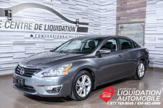 Used 2014 Nissan Altima MAGS,GR/ÉLECT,A/C,CAM/REC,TOIT,GPS,CUIR for sale in Laval, QC