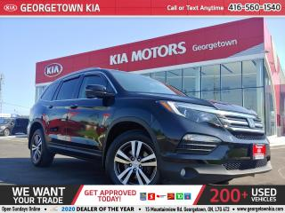 Used 2018 Honda Pilot EX-L Navi AWD| ONLY 46K KMS| NAVI | P/GATE | B/CAM for sale in Georgetown, ON