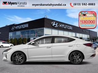 New 2020 Hyundai Elantra Sport DCT  - $175 B/W for sale in Kanata, ON