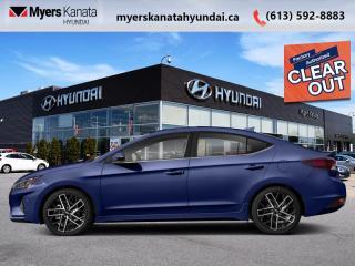 New 2020 Hyundai Elantra Sport DCT  - $176 B/W for sale in Kanata, ON