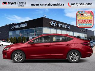 New 2020 Hyundai Elantra Luxury  - $159 B/W for sale in Kanata, ON