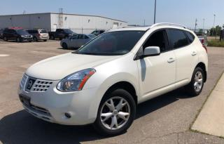 Used 2008 Nissan Rogue AWD | HEATED SEATS | LEATHER | SUNROOF for sale in Barrie, ON