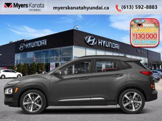 New 2020 Hyundai KONA 2.0L Luxury AWD  - $185 B/W for sale in Kanata, ON