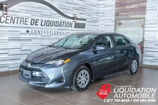 Used 2018 Toyota Corolla LE,GR/ÉLECT,A/C,CAM/REC for sale in Laval, QC