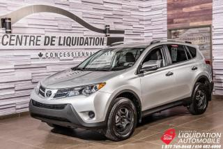 Used 2013 Toyota RAV4 AWD+CAMERA DE RECUL+GR ELECTRIQUE+AIR CLIM for sale in Laval, QC