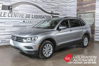 Used 2019 Volkswagen Tiguan Trendline+4MOTION+MAGS+A/C+CAM/REC+BLUETOOTH for sale in Laval, QC
