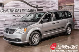 Used 2017 Dodge Grand Caravan Canada Value Package+GR ELECTRIQUE+A/C for sale in Laval, QC