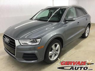 Used 2016 Audi Q3 Progressive AWD Toit MAGS CUIR for sale in Trois-Rivières, QC
