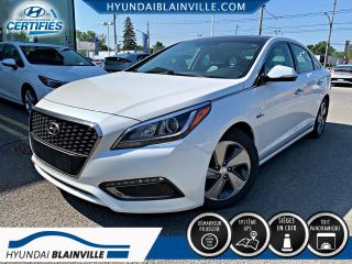 Used 2016 Hyundai Sonata Hybrid LIMITED CUIR, NAVIGATION, TOIT PANO, MAG for sale in Blainville, QC