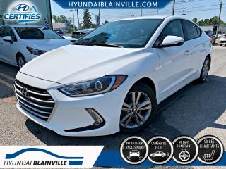 Used 2018 Hyundai Elantra GL APPLE CARPLAY, CAMÉRA DE RECUL, VOLAN for sale in Blainville, QC