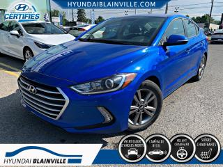 Used 2017 Hyundai Elantra GL APPLE CARPLAY, VOLANT CHAUF, MAGS , B for sale in Blainville, QC