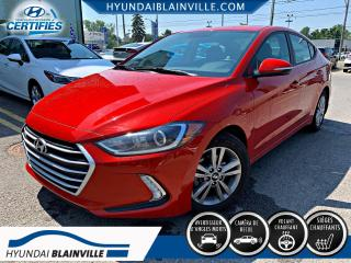 Used 2017 Hyundai Elantra GL APPLE CARPLAY, for sale in Blainville, QC