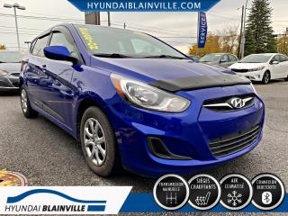 Used 2014 Hyundai Accent GL 5 PORTES MAN, BLUETOOTH, BANCS CHAUF, for sale in Blainville, QC