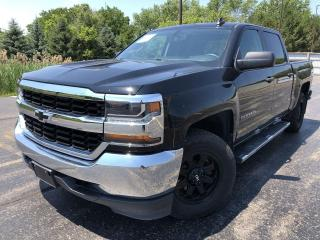 Used 2017 Chevrolet Silverado 1500 LS Crew Cab 4X4 for sale in Cayuga, ON
