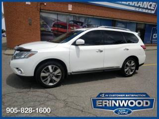 Used 2014 Nissan Pathfinder Platinum for sale in Mississauga, ON