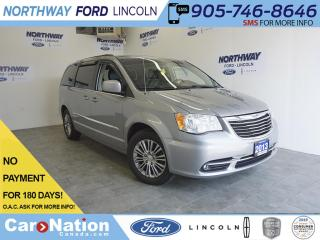 Used 2013 Chrysler Town & Country TOUCHSCREEN | LEATHER | POWER DOORS | REAR CAM for sale in Brantford, ON