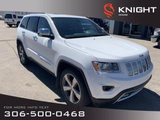 Used 2015 Jeep Grand Cherokee Limited for sale in Swift Current, SK