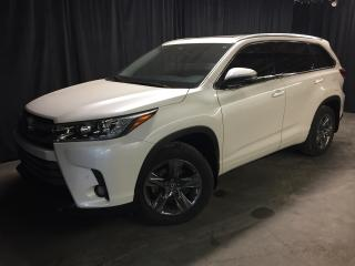 Used 2018 Toyota Highlander AWD Limited **7 834 KM**COMME NEUF** for sale in St-Eustache, QC