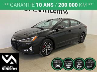 Used 2019 Hyundai Elantra SPORT ** GARANTIE 10 ANS ** Liquidation 2019! for sale in Shawinigan, QC
