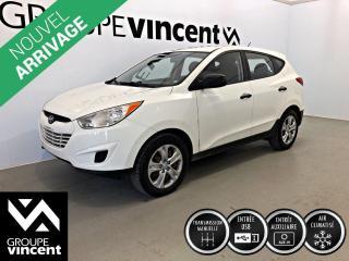 Used 2011 Hyundai Tucson L CLIMATISEUR ** GARANTIE 10 ANS ** VUS pour petit budget! for sale in Shawinigan, QC