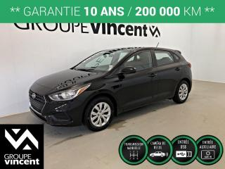 Used 2019 Hyundai Accent ESSENTIAL ** GARANTIE 10 ANS ** Liquidation 2019! Rabais de 2925$. for sale in Shawinigan, QC