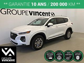 Used 2019 Hyundai Santa Fe ESSENTIAL ENS. SÉCURITÉ ** GARANTIE 10 ANS ** Liquidation 2019! for sale in Shawinigan, QC