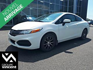 Used 2015 Honda Civic COUPE LX ** GARANTIE 10 ANS ** Réputée Civic à l'allure sportive! for sale in Shawinigan, QC
